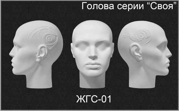 """Голова серии """"Своя"""" ЖГС-01"""