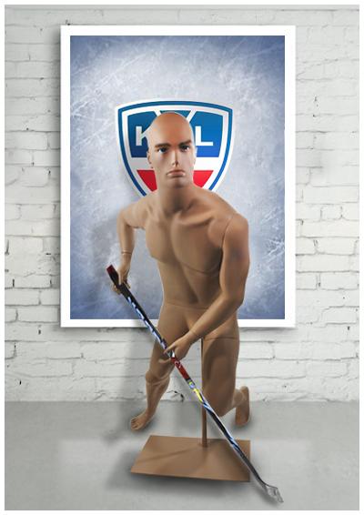 Хоккеист, бьющий слева ХКЛ - 02