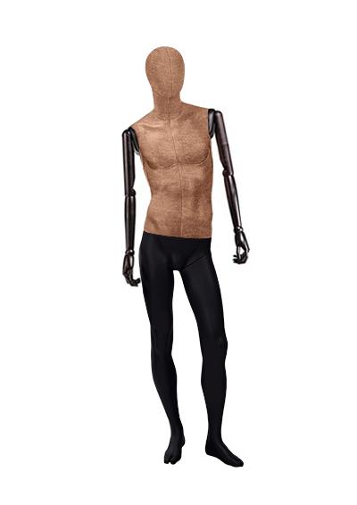 """Мужские тканевые манекены серии """"Ностальжи"""" с деревянными руками"""
