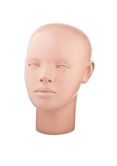 Голова женского манекена Кристина