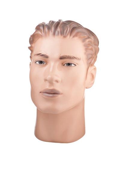 Голова мужского манекена Василий