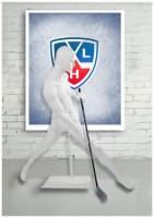 Хоккеист, бьющий справа ХКП - 01