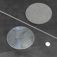 Форма ноги мужская для носков на подставке прозрачная - DTML-001