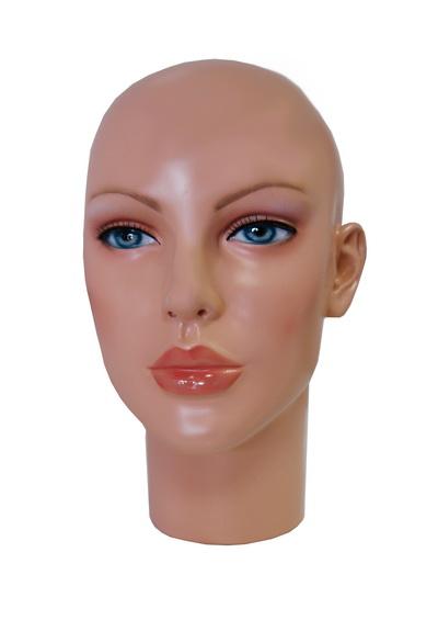 Голова женского манекена Авдотья