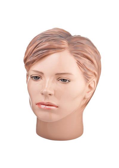 Голова женского манекена Большая