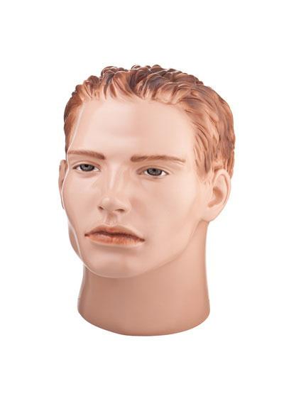 Голова мужского манекена Большой