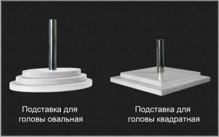 """Голова мужская МГВ-01 серии """"Визитер"""""""