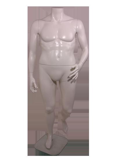 Мужской манекен без головы