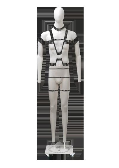 Мужской манекен - невидимка для фотосъемки серии