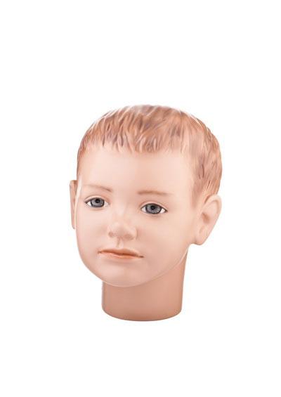 Голова детского манекена Пашка