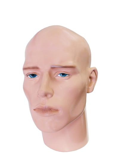 Голова мужского манекена Прохор