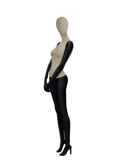Женские тканевые манекены серии