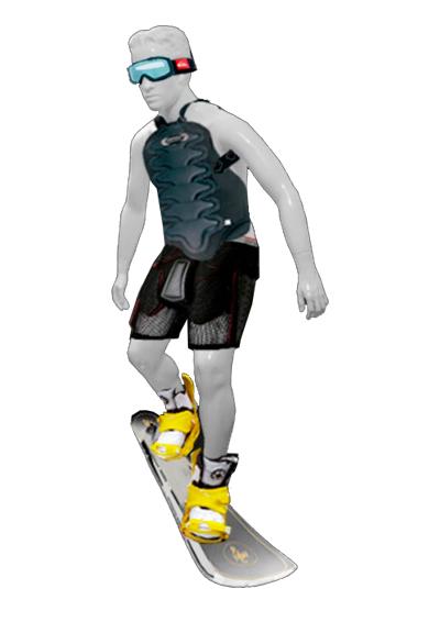 Сноубордист-01
