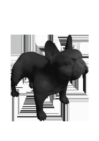 Стилизованные собаки Бульдог Кевин