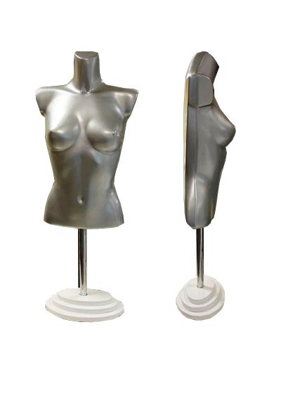 Торс женский с плоской спиной