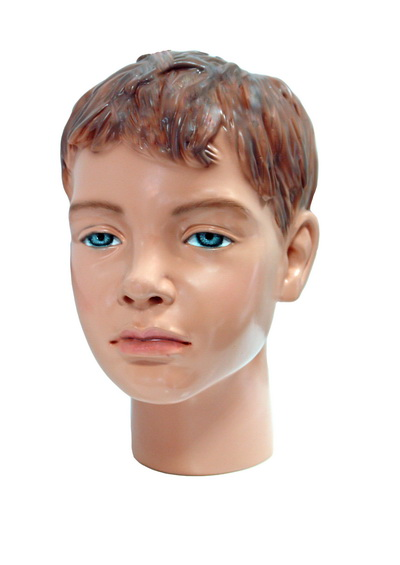 Голова детского манекена Володька