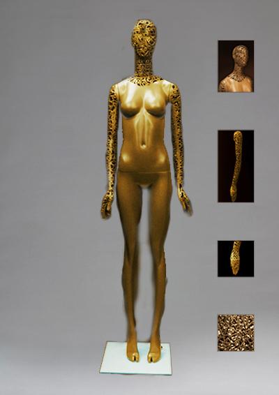 Женский сетчатый манекен серии